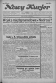 """Nowy Kurjer: dawniej """"Postęp"""" 1936.03.21 R.47 Nr68"""