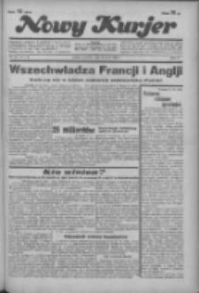 """Nowy Kurjer: dawniej """"Postęp"""" 1936.03.26 R.47 Nr72"""