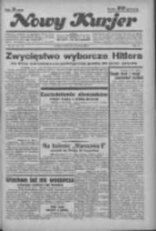 """Nowy Kurjer: dawniej """"Postęp"""" 1936.03.31 R.47 Nr76"""