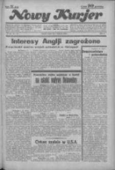 """Nowy Kurjer: dawniej """"Postęp"""" 1936.04.04 R.47 Nr80"""