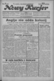 """Nowy Kurjer: dawniej """"Postęp"""" 1936.04. R.47 Nr83"""