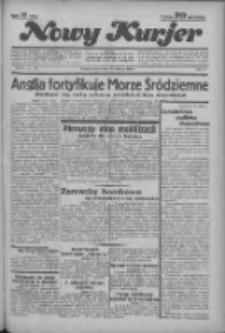 """Nowy Kurjer: dawniej """"Postęp"""" 1936.04.11 R.47 Nr86"""