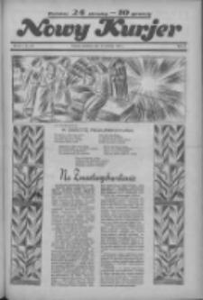 """Nowy Kurjer: dawniej """"Postęp"""" 1936.04.12 R.47 Nr87"""