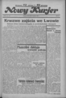 """Nowy Kurjer: dawniej """"Postęp"""" 1936.04.18 R.47 Nr91"""
