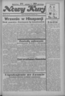 """Nowy Kurjer: dawniej """"Postęp"""" 1936.04.19 R.47 Nr92"""