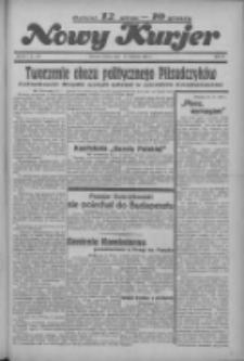 """Nowy Kurjer: dawniej """"Postęp"""" 1936.04.21 R.47 Nr93"""