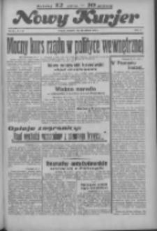 """Nowy Kurjer: dawniej """"Postęp"""" 1936.04.23 R.47 Nr95"""