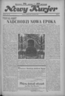 """Nowy Kurjer: dawniej """"Postęp"""" 1936.04.26 R.47 Nr98"""