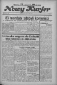 """Nowy Kurjer: dawniej """"Postęp"""" 1936.05.05 R.47 Nr105"""