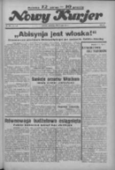 """Nowy Kurjer: dawniej """"Postęp"""" 1936.05.07 R.47 Nr107"""
