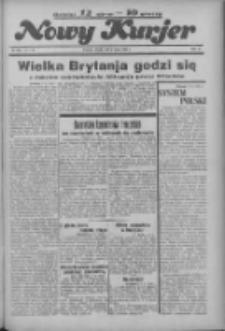 """Nowy Kurjer: dawniej """"Postęp"""" 1936.05.08 R.47 Nr108"""