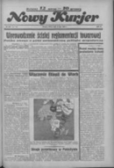 """Nowy Kurjer: dawniej """"Postęp"""" 1936.05.09 R.47 Nr109"""