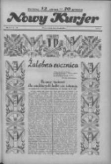 """Nowy Kurjer: dawniej """"Postęp"""" 1936.05.12 R.47 Nr111"""