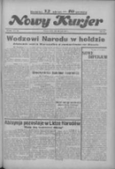 """Nowy Kurjer: dawniej """"Postęp"""" 1936.05.13 R.47 Nr112"""