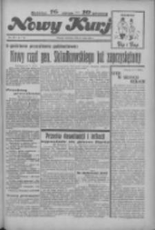 """Nowy Kurjer: dawniej """"Postęp"""" 1936.05.17 R.47 Nr116"""
