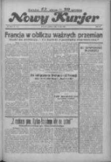 """Nowy Kurjer: dawniej """"Postęp"""" 1936.05.21 R.47 Nr119"""
