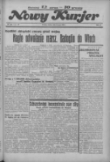 """Nowy Kurjer: dawniej """"Postęp"""" 1936.05.23 R.47 Nr120"""