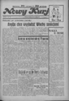 """Nowy Kurjer: dawniej """"Postęp"""" 1936.05.24 R.47 Nr121"""
