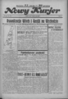 """Nowy Kurjer: dawniej """"Postęp"""" 1936.05.29 R.47 Nr125"""