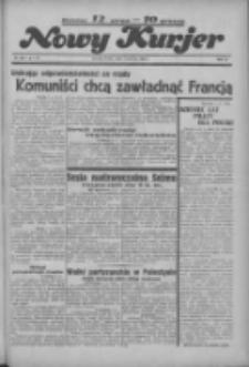 """Nowy Kurjer: dawniej """"Postęp"""" 1936.06.03 R.47 Nr128"""
