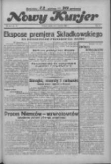 """Nowy Kurjer: dawniej """"Postęp"""" 1936.06.05 R.47 Nr130"""
