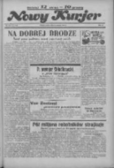 """Nowy Kurjer: dawniej """"Postęp"""" 1936.06.06 R.47 Nr131"""