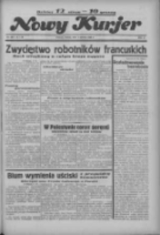 """Nowy Kurjer: dawniej """"Postęp"""" 1936.06.09 R.47 Nr133"""