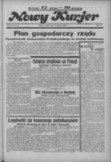 """Nowy Kurjer: dawniej """"Postęp"""" 1936.06.11 R.47 Nr135"""