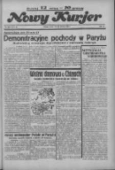 """Nowy Kurjer: dawniej """"Postęp"""" 1936.06.13 R.47 Nr136"""