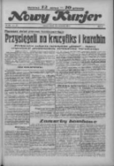 """Nowy Kurjer: dawniej """"Postęp"""" 1936.06.16 R.47 Nr138"""