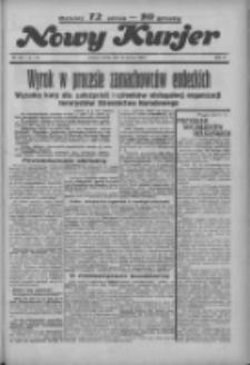 """Nowy Kurjer: dawniej """"Postęp"""" 1936.06.20 R.47 Nr142"""