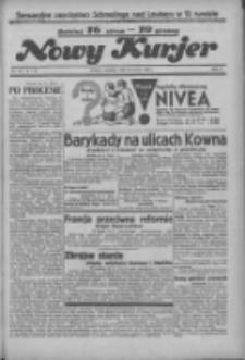 """Nowy Kurjer: dawniej """"Postęp"""" 1936.06.21 R.47 Nr143"""
