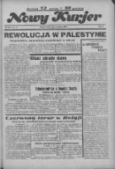 """Nowy Kurjer: dawniej """"Postęp"""" 1936.06.23 R.47 Nr144"""
