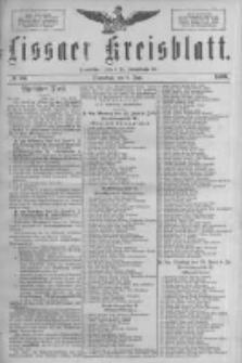 Lissaer Kreisblatt.1889.06.08 Nr46