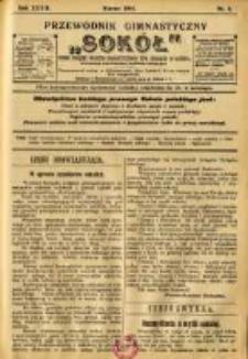 """Przewodnik Gimnastyczny """"Sokół"""": organ Związku Polskich Gimnastycznych Towarzystw Sokolich w Austryi 1912.03 R.32 Nr3"""
