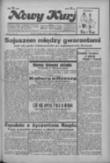 """Nowy Kurjer: dawniej """"Postęp"""" 1936.03.22 R.47 Nr69"""