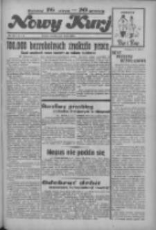 """Nowy Kurjer: dawniej """"Postęp"""" 1936.05.03 R.47 Nr104"""