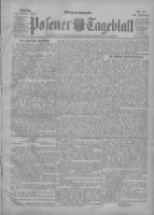 Posener Tageblatt 1904.01.12 Jg.43 Nr17