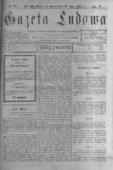 Gazeta Ludowa: pismo polsko-ewangelickie dla ludu mazurskiego. 1901.07.12 R.6 nr53