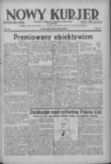 Nowy Kurjer: dziennik poświęcony sprawom politycznym i społecznym 1938.02.02 R.49 Nr26