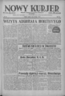 Nowy Kurjer: dziennik poświęcony sprawom politycznym i społecznym 1938.02.05 R.49 Nr28