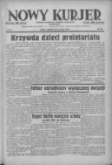 Nowy Kurjer: dziennik poświęcony sprawom politycznym i społecznym 1938.02.06 R.49 Nr29
