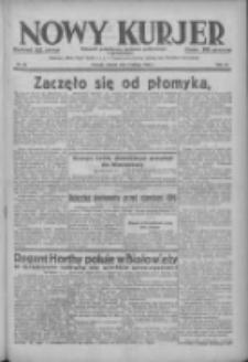 Nowy Kurjer: dziennik poświęcony sprawom politycznym i społecznym 1938.02.08 R.49 Nr30