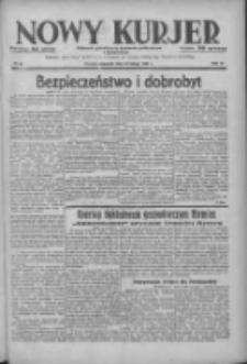 Nowy Kurjer: dziennik poświęcony sprawom politycznym i społecznym 1938.02.10 R.49 Nr32