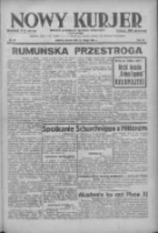 Nowy Kurjer: dziennik poświęcony sprawom politycznym i społecznym 1938.02.15 R.49 Nr36