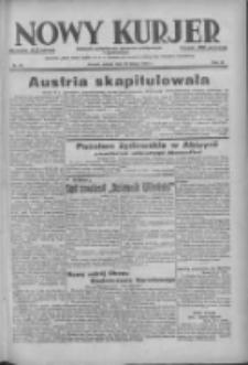 Nowy Kurjer: dziennik poświęcony sprawom politycznym i społecznym 1938.02.19 R.49 Nr40