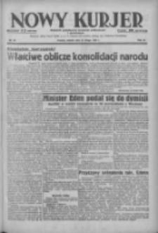 Nowy Kurjer: dziennik poświęcony sprawom politycznym i społecznym 1938.02.22 R.49 Nr42