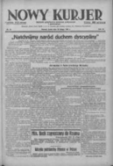 Nowy Kurjer: dziennik poświęcony sprawom politycznym i społecznym 1938.02.23 R.49 Nr43