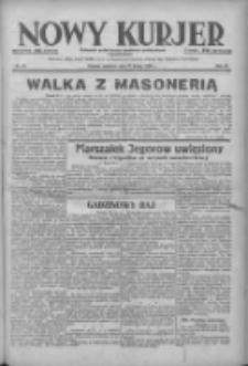 Nowy Kurjer: dziennik poświęcony sprawom politycznym i społecznym 1938.02.27 R.49 Nr47