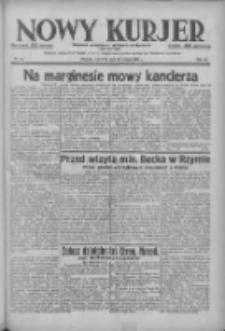 Nowy Kurjer: dziennik poświęcony sprawom politycznym i społecznym 1938.02.24 R.49 Nr44